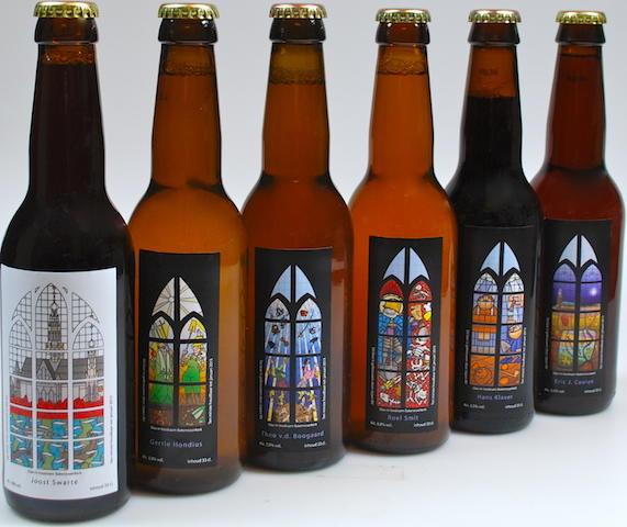 Sponsoractie: Laatste Glas-In-Lood-Stripraam voor Bakenesserkerk