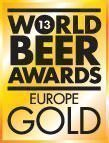 Europes best Gold World Beer Award