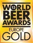 Europes best Gold World Beer Award