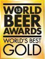Worlds best Gold World Beer Award