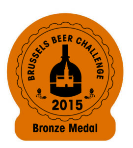 Brussels Beer Challenge 2015 – Bronze