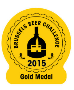 Brussels Beer Challenge 2015 – Gold