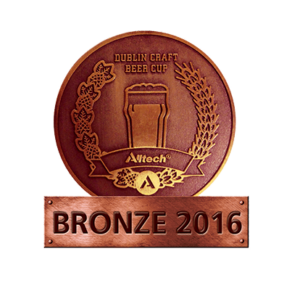 Dublin Craft Beer Cup 2016 – Bronze