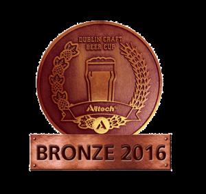 Dublin Craft Beer Cup 2016 – Bronze