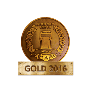Dublin Craft Beer Cup 2016 – Gold