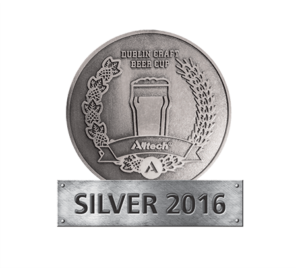 Dublin Craft Beer Cup 2016 – Silver