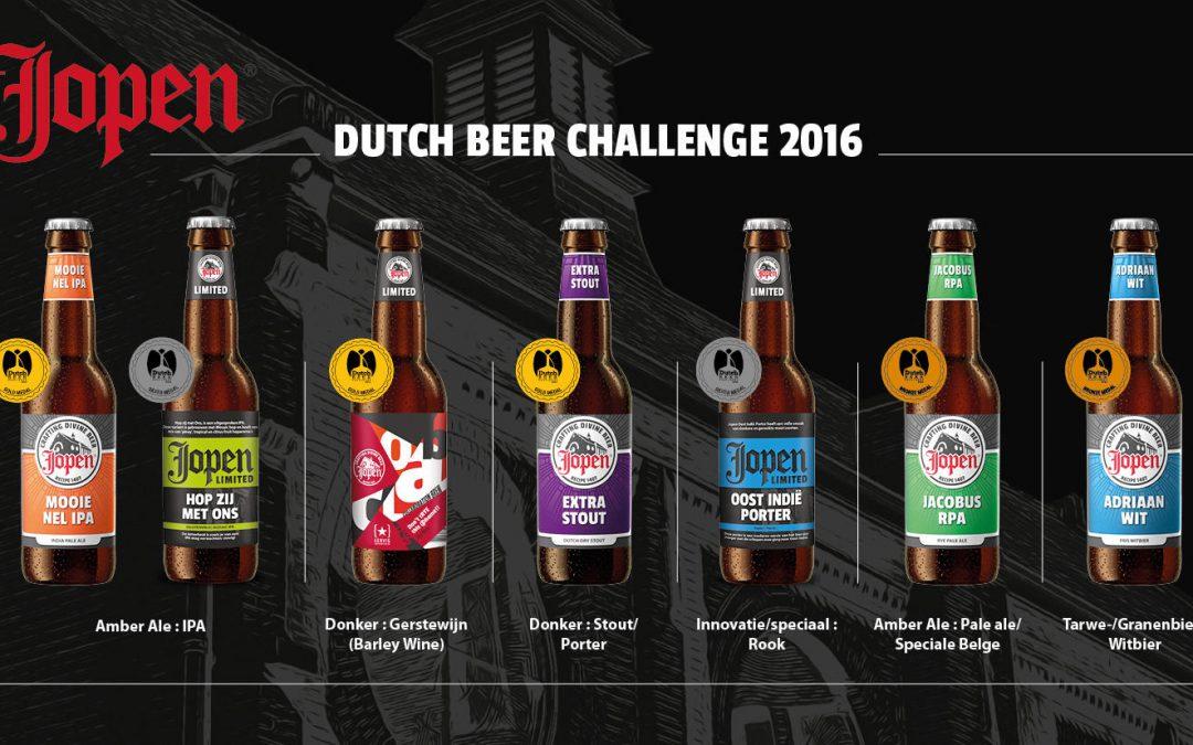 Jopen grote winnaar tijdens Dutch Beer Challenge 2016