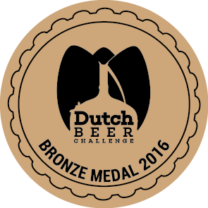 Dutch Beer Challenge 2016 – Bronze
