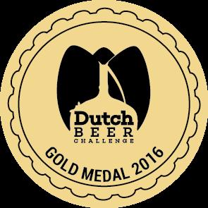 Dutch Beer Challenge 2016 – Gold