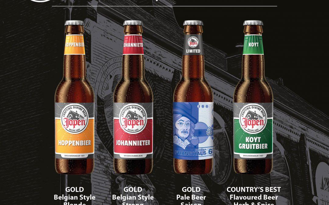 Jopen Koyt is Country's Best op World Beer Awards 2016