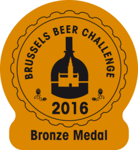 Brussels Beer Challenge 2016 – Bronze