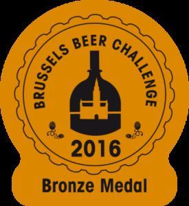 Brussels Beer Challenge 2016 – Bronze
