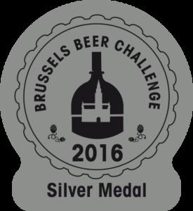 Brussels Beer Challenge 2016 – Silver