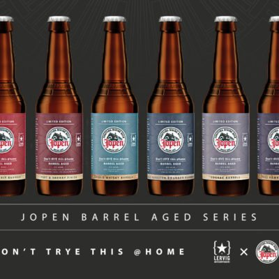 Jopen Barrel Aged Don't tRYE this @home