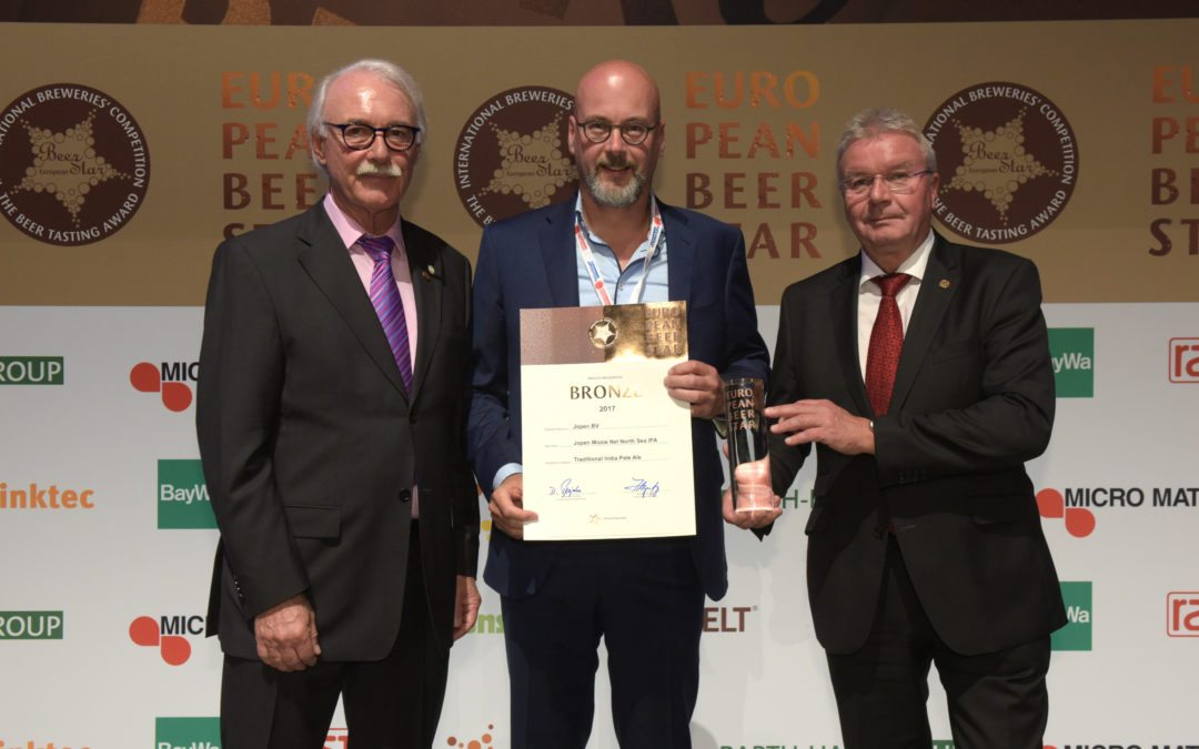 Jopen Mooie Nel IPA verovert een bronzen European Beer Star