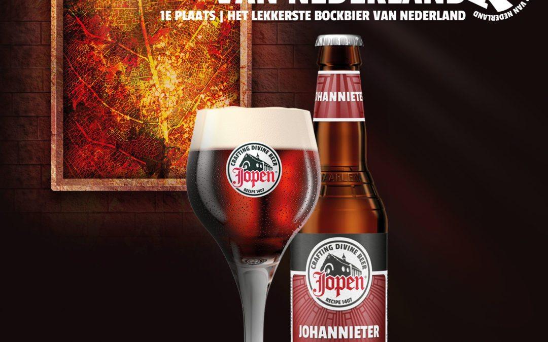 Jopen Johannieter is 'Het Lekkerste Zware Bockbier van Nederland'