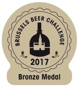 Brussels Beer Challenge 2017 – Bronze