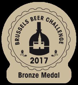 Brussels Beer Challenge 2017 – Bronze