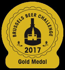 Brussels Beer Challenge 2017 – Gold
