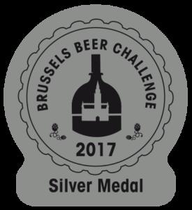 Brussels Beer Challenge 2017 – Silver
