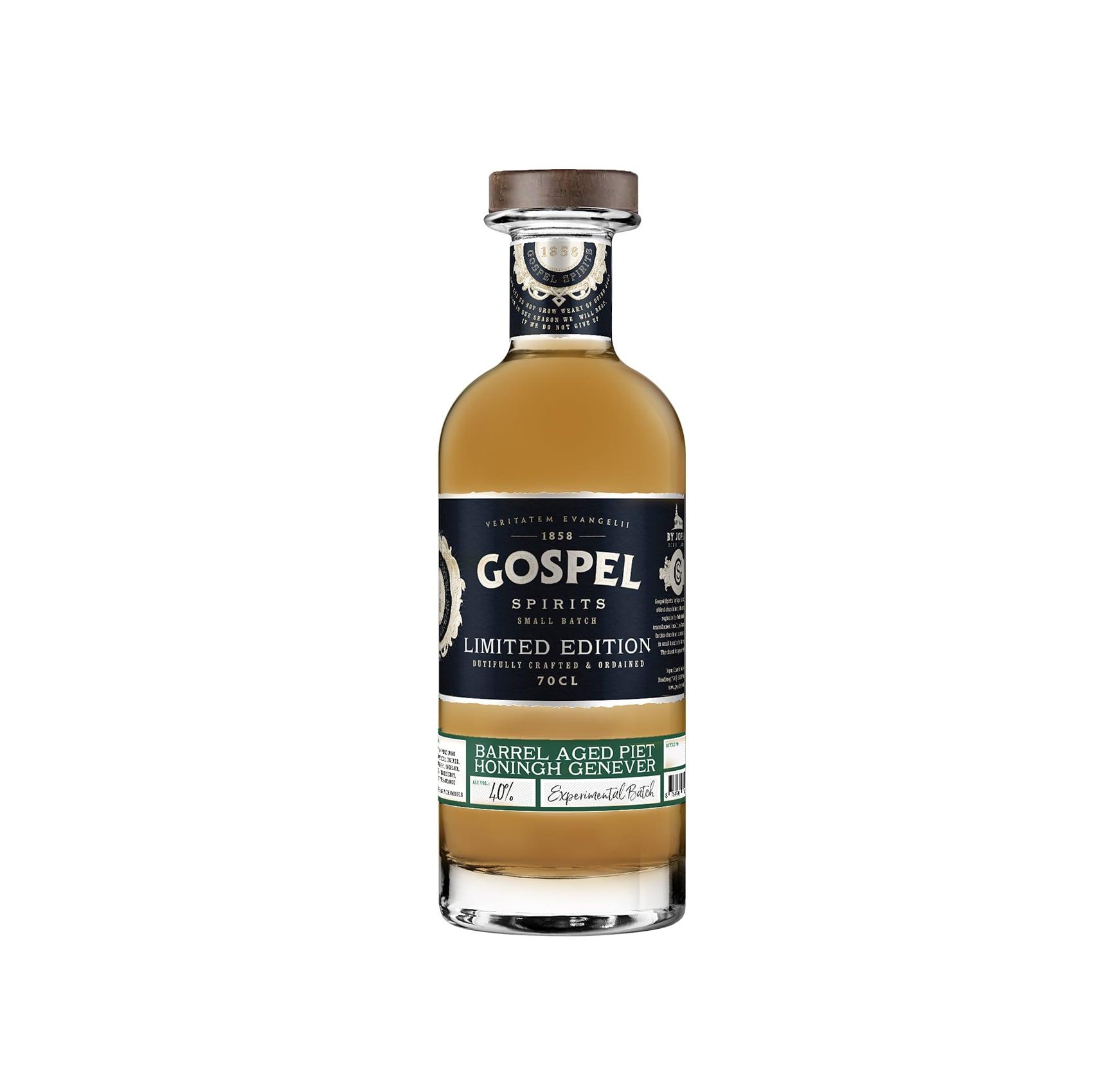 Gospel Spirits Piet Honingh Genever Barrel Aged