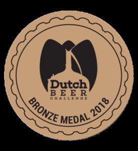 Dutch Beer Challenge 2018 – Bronze