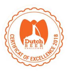 Dutch Beer Challenge 2018 – Certificate of Excellence