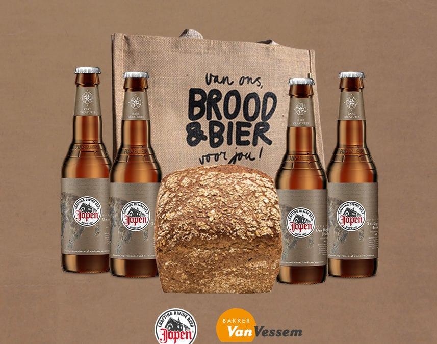 Van Vessem en Jopen creëren broodbier en bierbrood