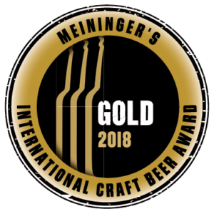 Meiniger's International Craft Beer Award 2018 – Goud