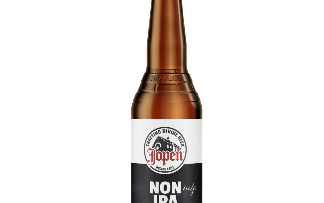 Craft brouwerij Jopen komt met alcoholarme Jopen Non IPA