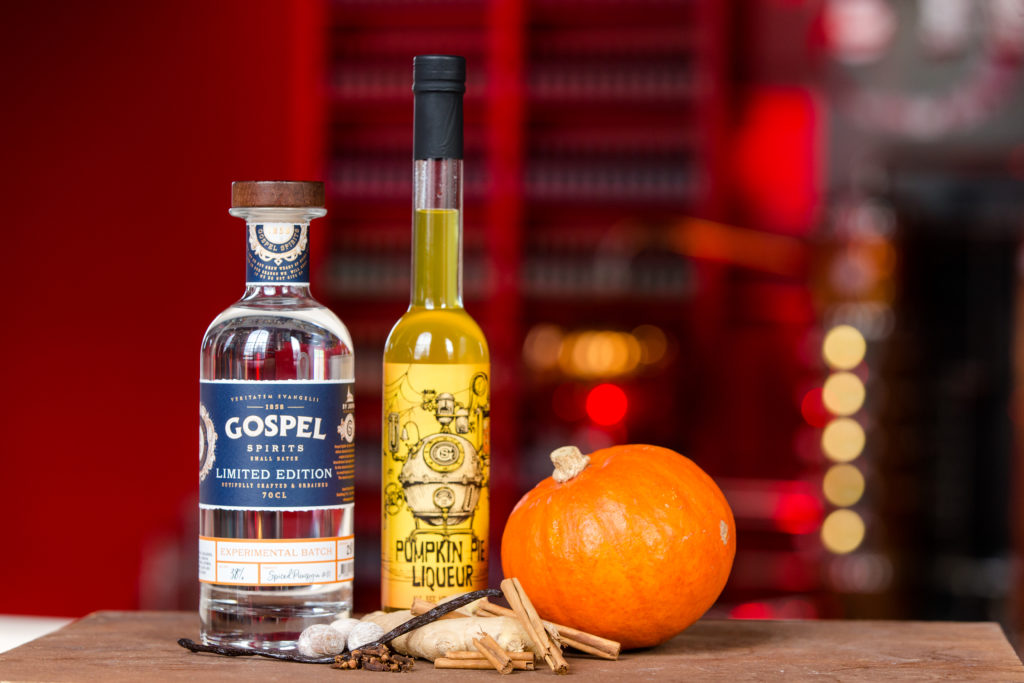 Gospel Spirits Spiced PumpGin en Pumpkin Pie Liqueur