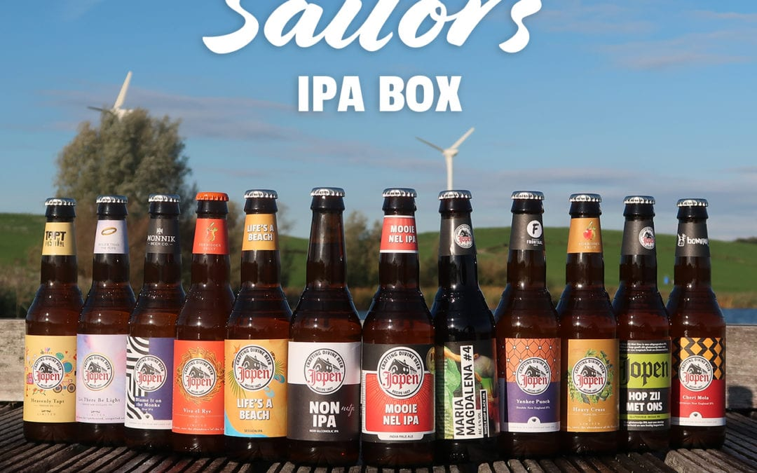 De Sailor's IPA Jopenbox – Om zeebenen van te krijgen!
