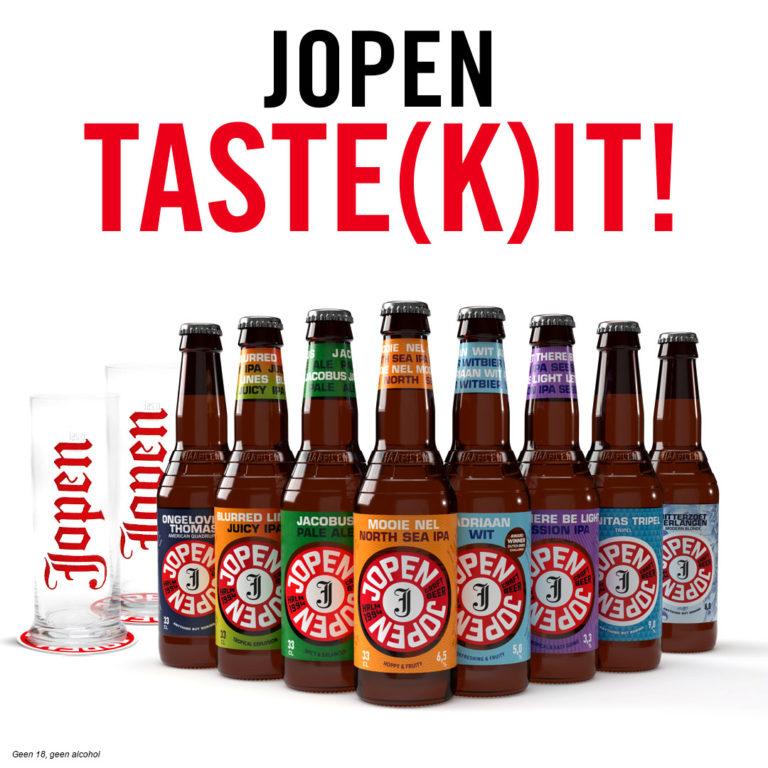 Jopen Taste Kit met stangen