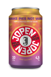 Make Pies Not War 33cl blik