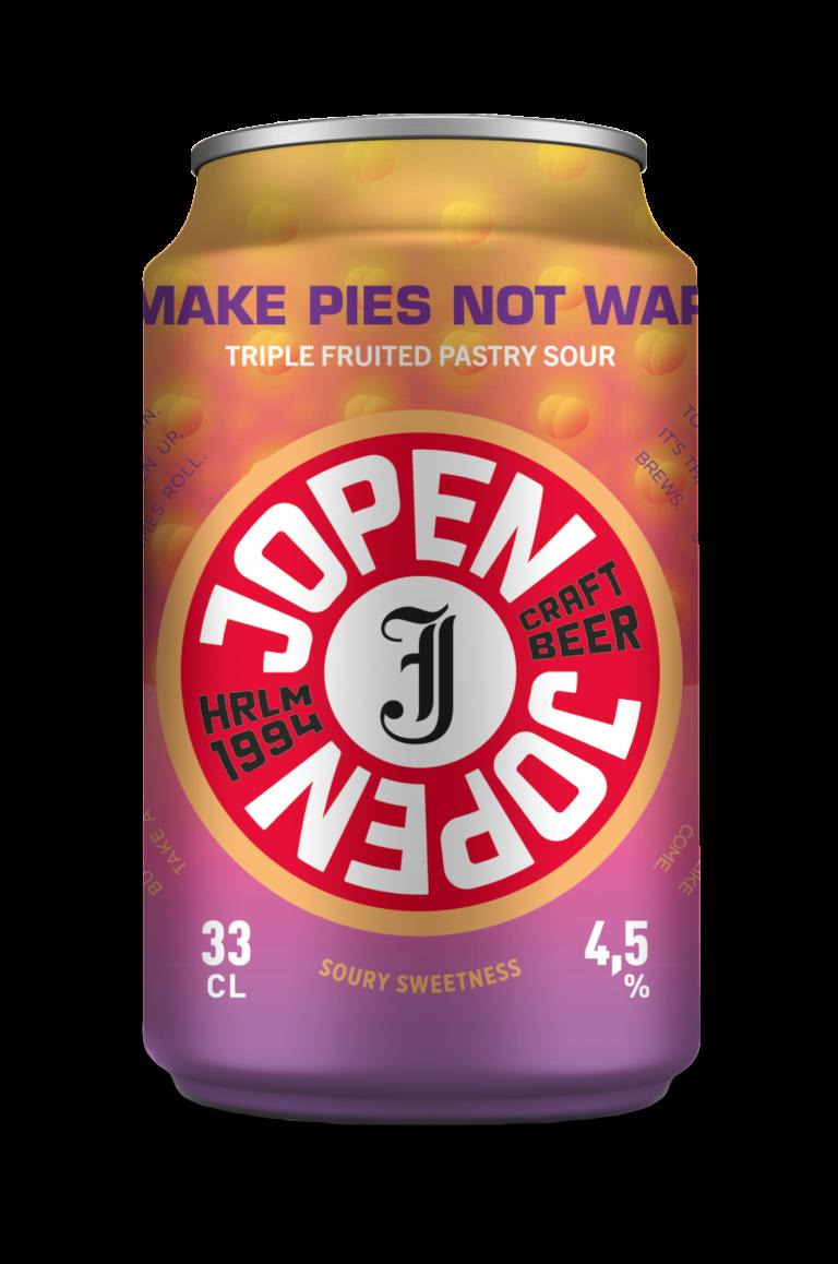 Make Pies Not War 33cl blik
