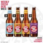 Weekly Fresh Deal week 14, iedere week vers bier bij je thuis