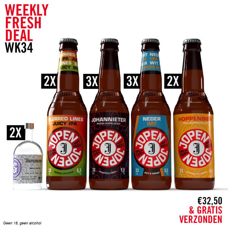 Weekly Fresh Deal week 34 keep the spirits up