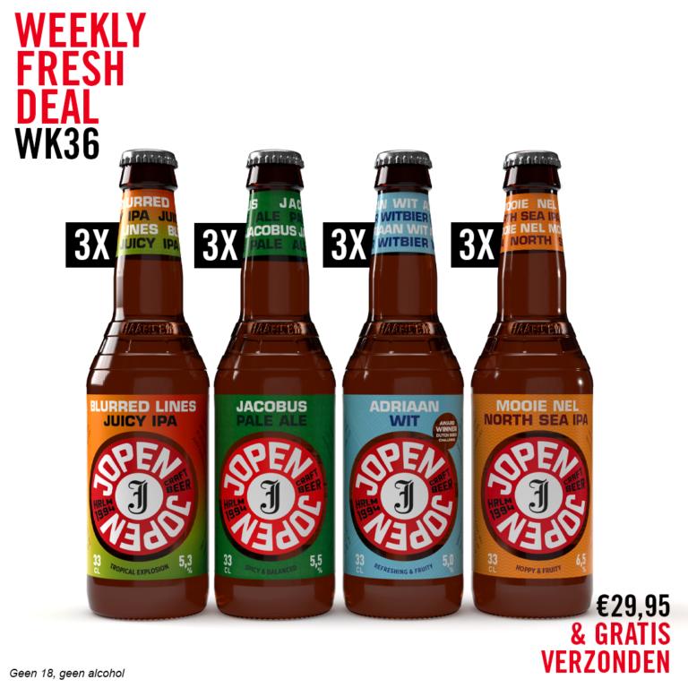 Weekly Fresh Deal week 36 verfrissend en dorstblussend lekker
